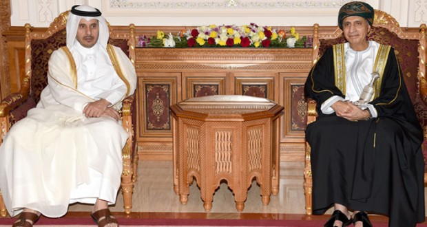 السلطنة ودولة قطر تبحثان في جلسة أخوية دعم وتعزيز آفاق التعاون بكافة المجالات