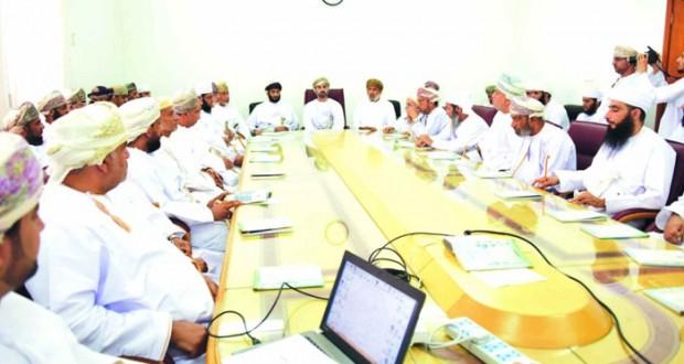 """رئيس مجلس الشورى يدشن البرنامج الالكتروني """"إحسان"""" لمشروع الإحسان الخيري بوادي المعاول"""