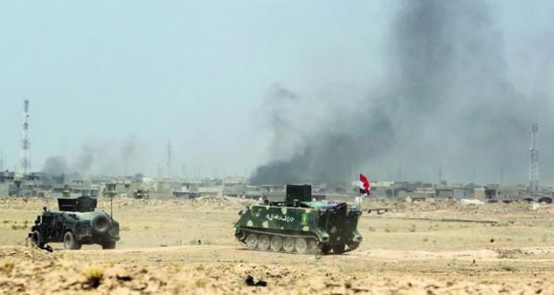 العراق: الجيش يتقدم نحو (الفلوجة) ويسيطر على (التفاحة)
