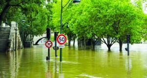 ارتفاع مياه نهر السين لستة امتار