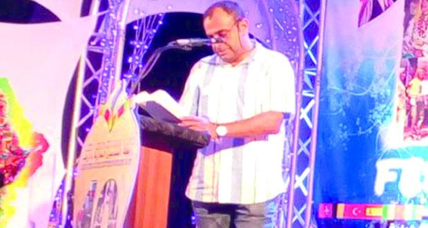الشعر العماني يسجل حضوره في المهرجان الدولي للشعر بالناظور