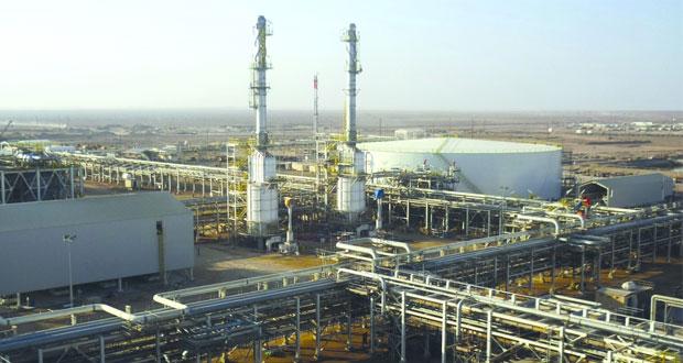 30.9 مليون برميل إنتاح السلطنة من النفط الخام والمكثفات النفطية خلال مايو الماضي