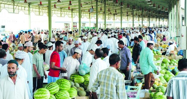 سوق الموالح يوفر أكثر من 28 ألف طن من الفواكه والخضراوات
