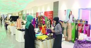 """""""بازار رمضان"""" معرض لمنتجات أصحاب المشاريع الصغيرة والمتوسطة والمنزلية"""