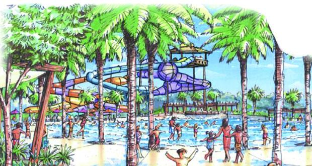 (عمران) تدعم مشروع تطوير أول حديقة مائية عائلية بمواصفات عالمية في مسقط