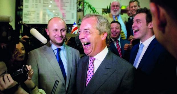 بريطانيا تخرج من المظلة الأوروبية .. وكاميرون يتنحى في أكتوبر