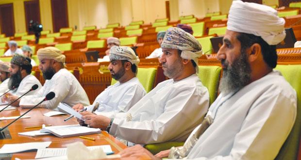 """""""الشورى"""" يوافق على إحالة مواد الخلاف في قانون الجزاء العماني إلى التصويت في الجلسة المشتركة مع """" الدولة """" غدا"""
