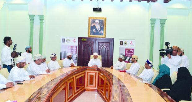 وزير الأوقاف والشؤون الدينية يدشن حملة السهم الوقفي