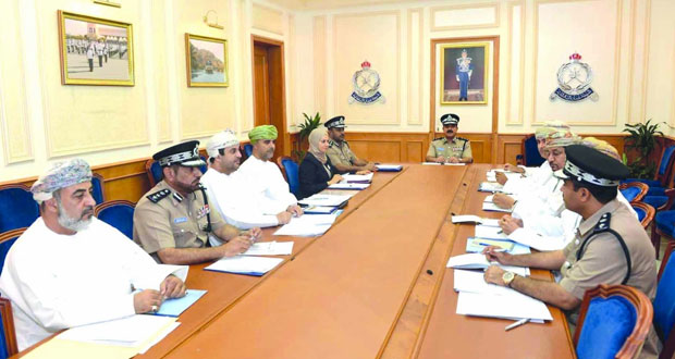 اجتماع اللجنة الرئيسية لمسابقة السلامة المرورية