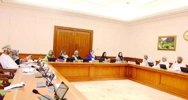 فريق دراسة تطوير دور جمعيات المرأة يستضيف مختصين بالتنمية الاجتماعية
