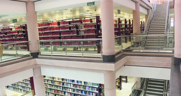 40 ألف دورية ومليونا رسالة جامعية و 200 ألف كتاب إلكتروني و 500 مجلة عربية إلكترونية تحتضنها مكتبة جامعة السلطان قابوس