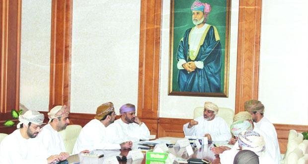 إجتماع اللجنة الفنية المعنية بالآلية المرحلية للتخطيط العمراني