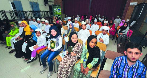 بدء أعمال التصفيات النهائية لمسابقة القرآن الكريم لمدارس السيب