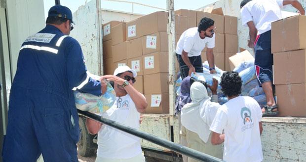 جمعية دار العطاء الخيرية تطلق 12 فعالية ومشروعاً بمختلف محافظات السلطنة