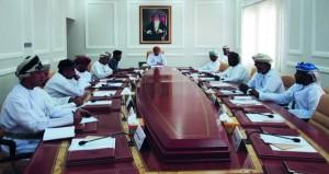 المجلس البلدي بالوسطى يستعرض مشروع إمداد خط نقل المياه الدقم ـ هيماء