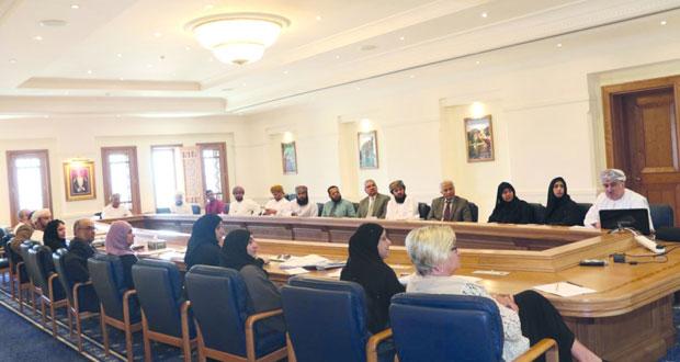 الاعتماد الأكاديمي تعرض الوثائق الأساسية لمشروع تطوير الإطار الوطني للمؤهلات