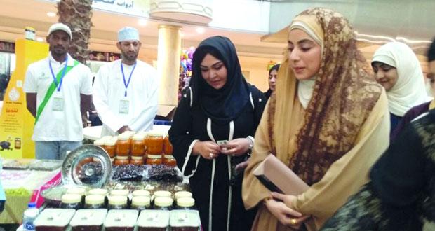 بدء فعاليات ملتقى الأسر المنتجة الأول لجمعية الرحمة بالسيب