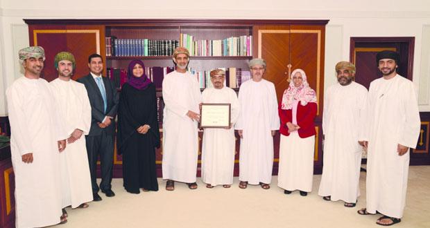 كلية التربية بجامعة السلطان قابوس تحصل على الاعتماد الأكاديمي الدولي لإعداد التربويين في مستويي الدراسات العليا والجامعية