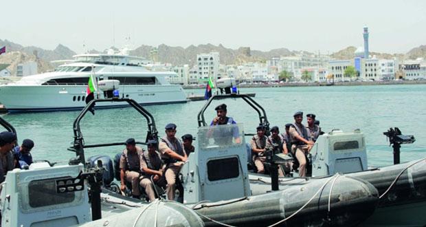 اختتام برنامج التطبيقات العملية لدفعة الضباط المرشحين (40) بقيادة شرطة خفر السواحل