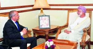 كوبلر يلتقي عقيلة صالح في مسقط ويؤكد على أهمية دور السلطنة في تقارب جميع الأطراف الليبية