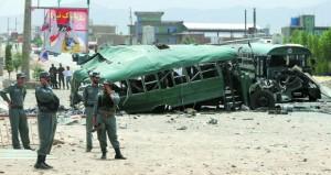 أفغانستان: قتلى وجرحى بالعشرات في تفجير استهدف الشرطة بكابول