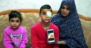 الرصاص الأسفنجي الأسود .. سلاح الاحتلال الفتاك لقمع الأطفال الفلسطينيين
