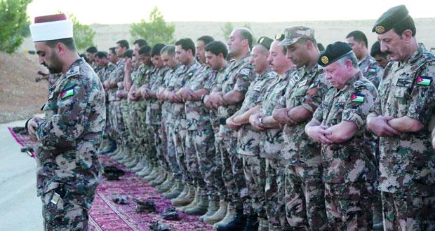 الأردن : قتلى وجرحى عسكريون بهجوم بـ(مفخخة) قرب الحدود السورية
