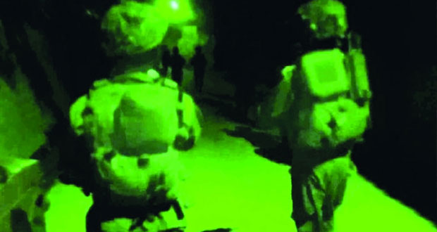 قوات الاحتلال تشن حملات دهم واعتقال فـي الأراضي الفلسطينية