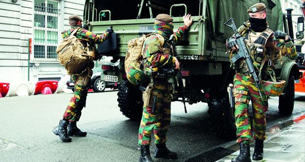 بلجيكا: اعتقال 12 شخصا في إطار مكافحة الإرهاب وتوقيف متهم ثامن في اعتداءات بروكسل