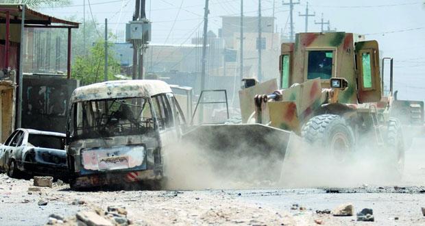 العراق تعلن السيطرة الكاملة على الفلوجة وتتوعد داعش في الموصل