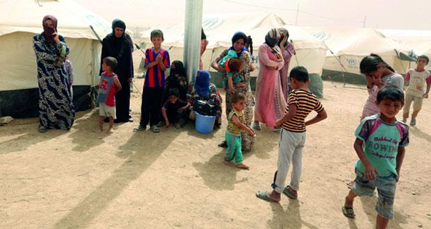 القوات العراقية تتقدم نحو قاعدة جوية جنوب الموصل