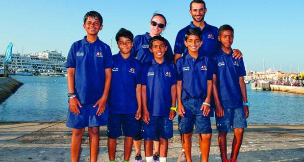 أبرز البحّارة الناشئين يختتمون معسكرًا تدريبيًا في البرتغال