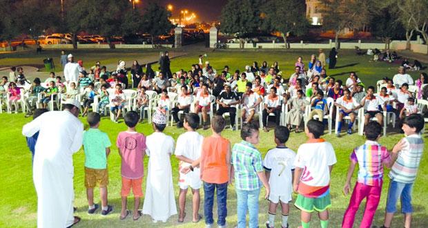 تواصل فعاليات برنامج صيف الرياضة في المسابقات والأنشطة المتنوعة