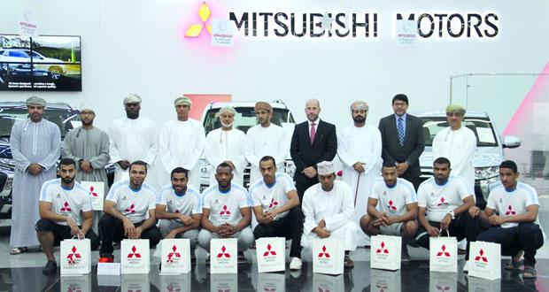 مؤسسة الزبير وميتسوبيشي عمان يحتفلان بانجازات المنتخب الوطني لكرة اليد للصالات