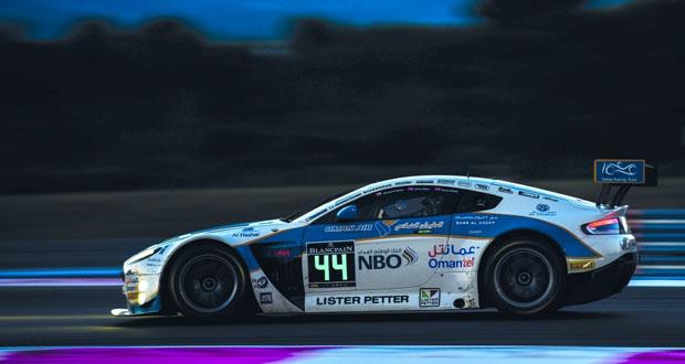 عطل فني مفاجئ يبعد فريق عمان لسباقات السيارات عن منصة التتويج في فرنسا