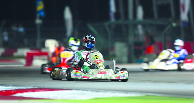 فريق عمان للكارتينج يتوج بالمركز الثالث ببطولة إيطاليا الدولية