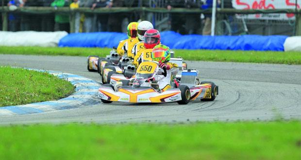 فريق الوهيبي لرياضة السيارات يشارك في سباق الاتحاد الدولي للكارتينج