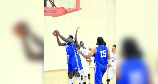اليوم .. الاتفاق ونزوى في مواجهة للحصول على لقب درع الوزارة لكرة السلة