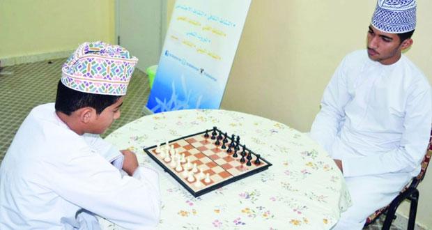 ختام مسابقة الشطرنج بنادي الشباب