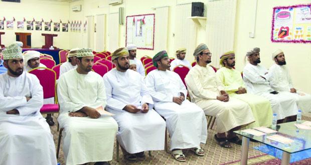 نادي الوسطى الرياضي ينظم أمسية ثقافية رمضانية