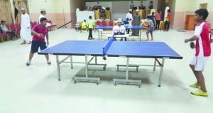 مسابقة تنس الطاولة بقريات تشهد مشاركة وتفاعلا كبيرا من الفرق الأهلية