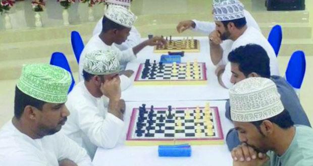 ختام ناجح لمنافسات بطولة الشطرنج بنادي سمائل