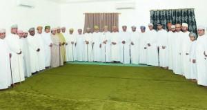 سالم الوهيبي يلتقي الداعمين وأعضاء مجلس إدارة نادي صحم