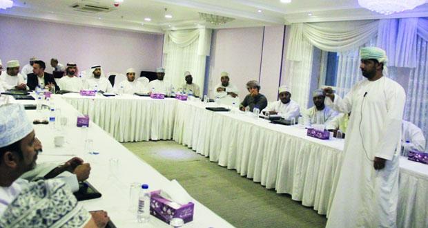 تواصل الدورة الثالثة لتطوير مهارات إداري المنتخبات الوطنية والفرق الرياضية