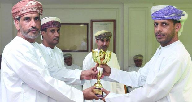 ختام بطولة شـرطة عمان السلطانية للسنوكر والسهم الرمضانية للضباط