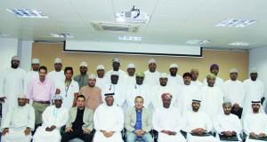 ختام أعمال دورة تطوير مهارات إداريي المنتخبات الوطنية والفرق الرياضية