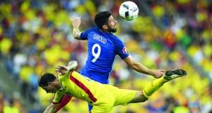 في كأس أوروبا: باييه ينقذ فرنسا من فخ رومانيا في الافتتاح