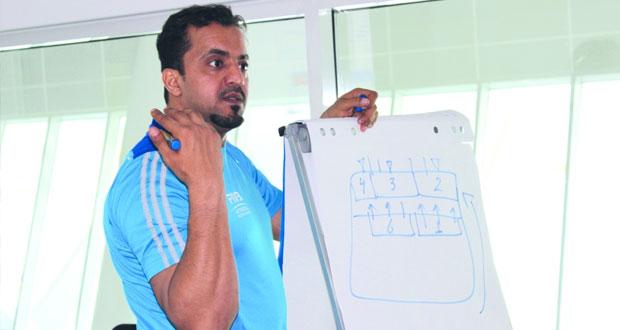 الريامي يدير الندوة الدولية لمعلمي الرياضة المدرسية بالبحرين