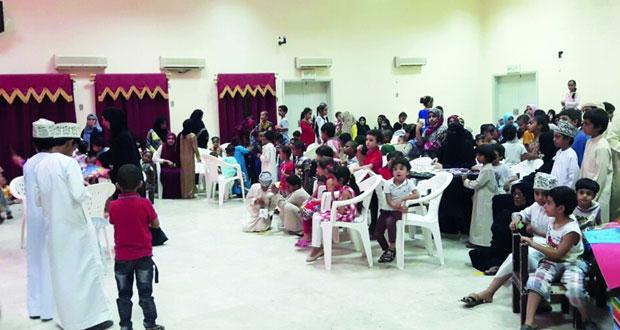 مسابقات وفعاليات متنوعة للأطفال بنادي ينقل