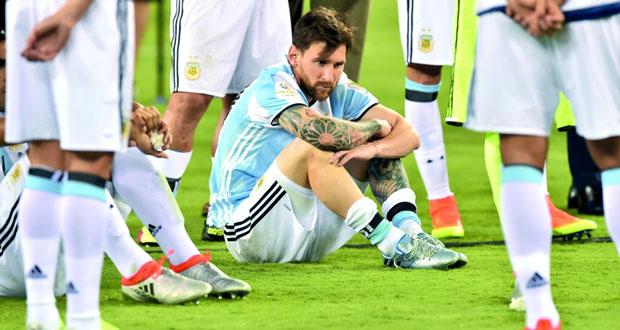 مأساة الكرة الأرجنتينية تتضاعف بعد انسحاب ميسي من المشهد
